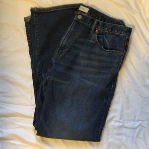 Gap Jeans Straight Medium Wash 36x32